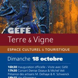 Vernissage Terre & Vigne 18.10.2020